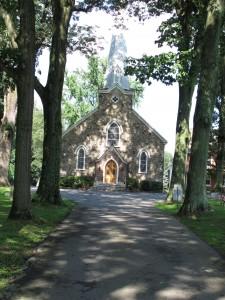 Church Built 1852 - 1856. Cornerstone dedicated by Bishop St. John Neumann.